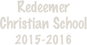Redeemer 